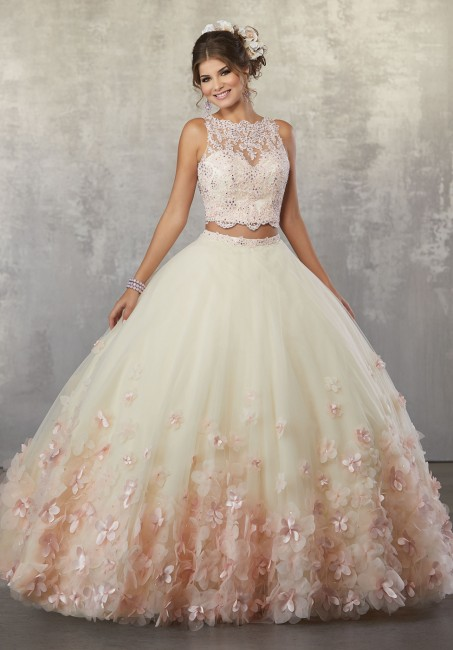 mori lee two piece sweet 16 dress 03 341