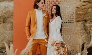 22 Lovely 70s Style Wedding Dresses