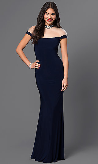 navy dress MF E1885 e