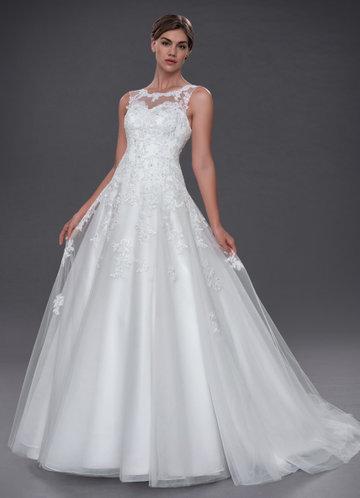 A Line Bridal Dress New White Wedding Dresses