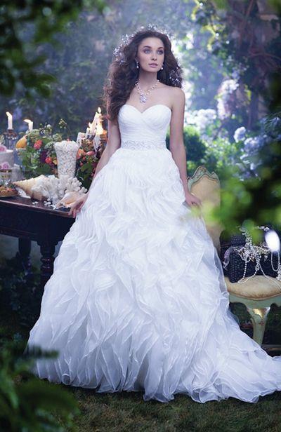 A Line Princess Wedding Dresses Inspirational Disney Princess Wedding Dresses by Alfred Angelo