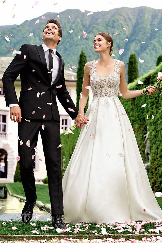 A Line Princess Wedding Dresses Lovely Romantic and Traditional Wedding Dresses