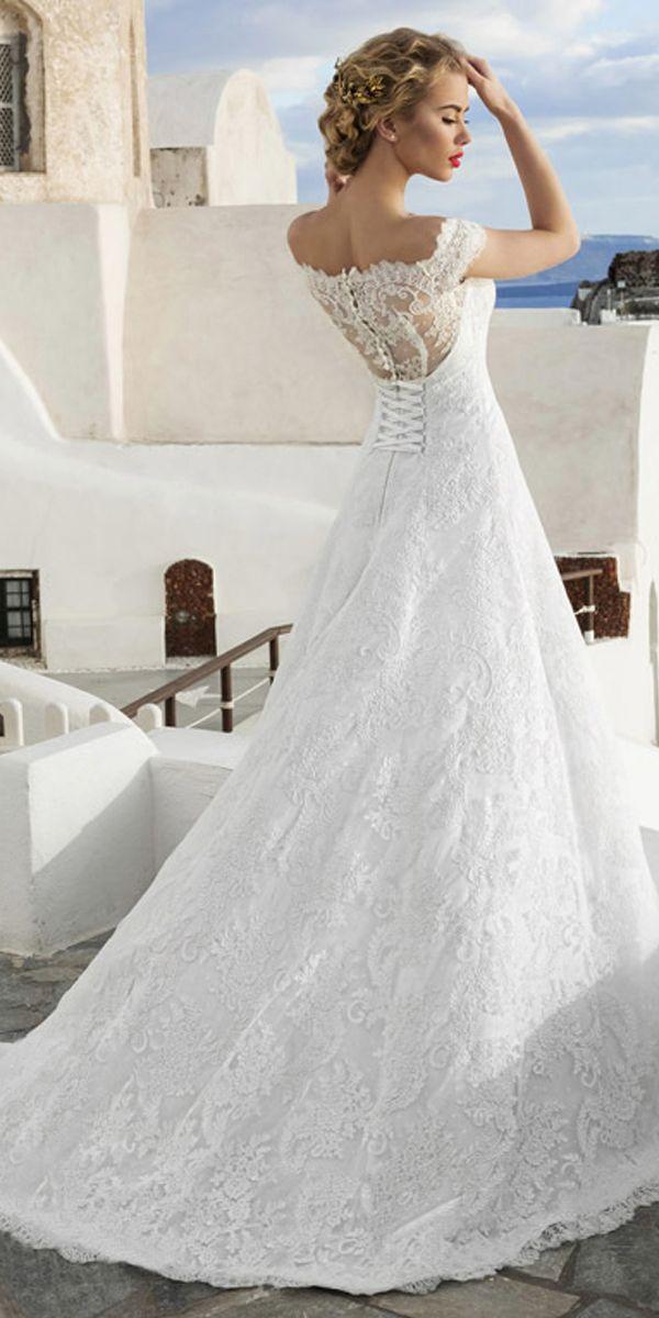 A Line Princess Wedding Dresses Unique Exquisite Lace F the Shoulder Neckline A Line Wedding