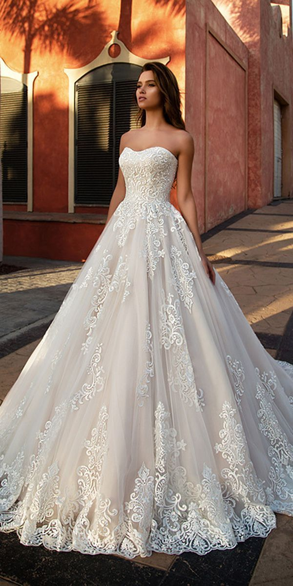 A Line Wedding Dresses Sweetheart Neckline Luxury 284 40] Marvelous Tulle Sweetheart Neckline A Line Wedding