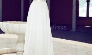 20 Beautiful A Line Wedding Dresses with Straps