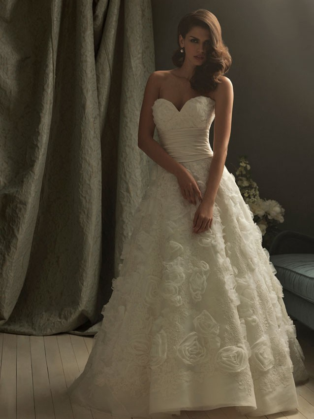 Allure Couture Wedding Dresses Awesome Allure Couture C157 Wedding Dress