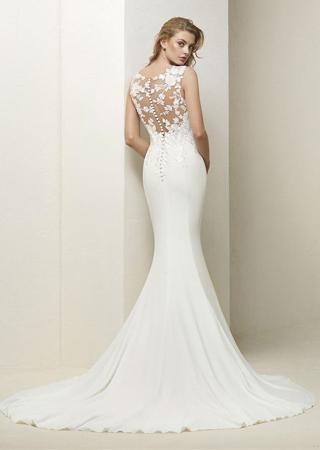 Pronovias 90 Drail Designer Wedding Dresses I Do I Do Bridal Studio New York New Jersey