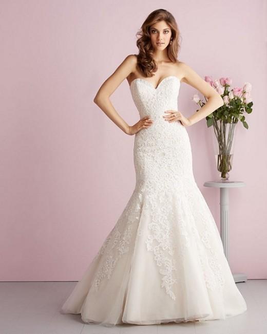 allure bridals 2709 wedding dress 01 297