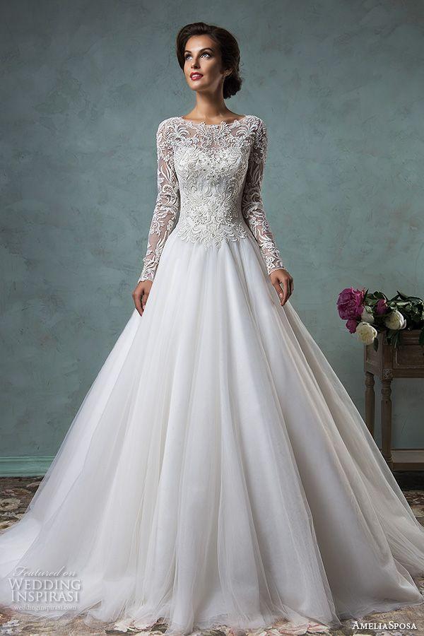 Amelia Sposa 2016 Wedding Dresses Beautiful Amelia Sposa 2016 Wedding Dresses — Volume 2