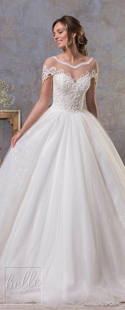 dream wedding dress lace beautiful inspirational amelia sposa fall 2018 wedding dresses dream wedding of dream wedding dress lace beautiful 415x1024