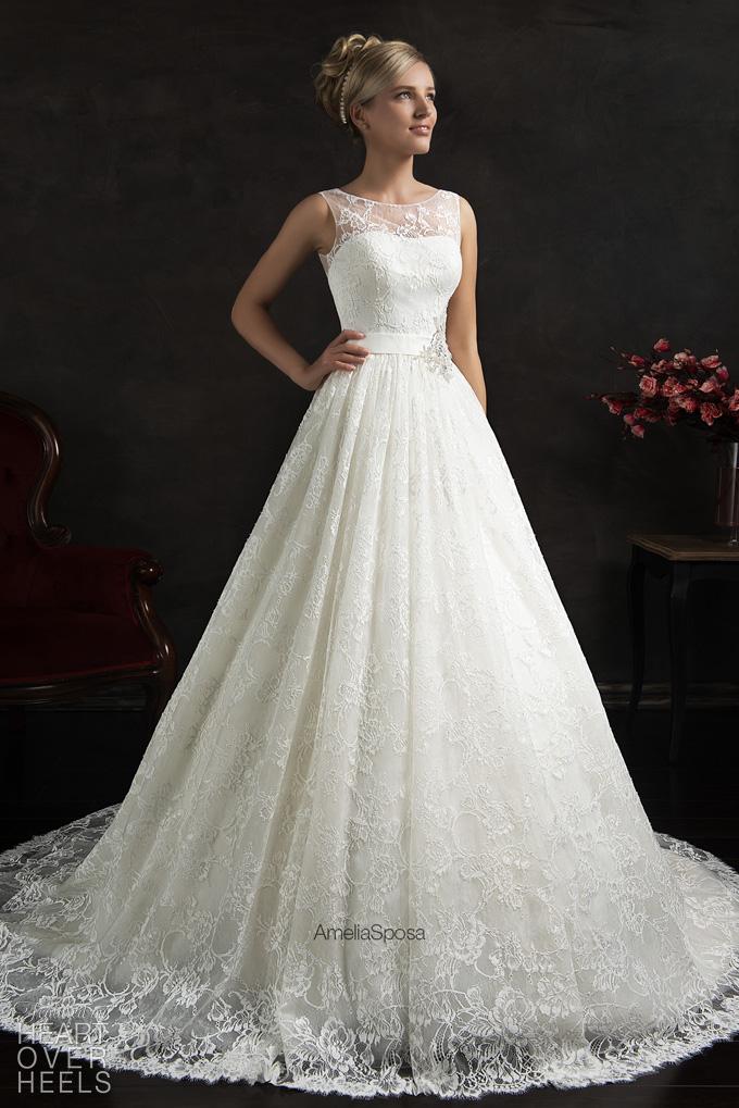 plain wedding dress design specially amelia sposa wedding dresses
