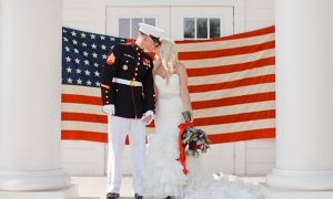 28 New American Flag Wedding Dresses