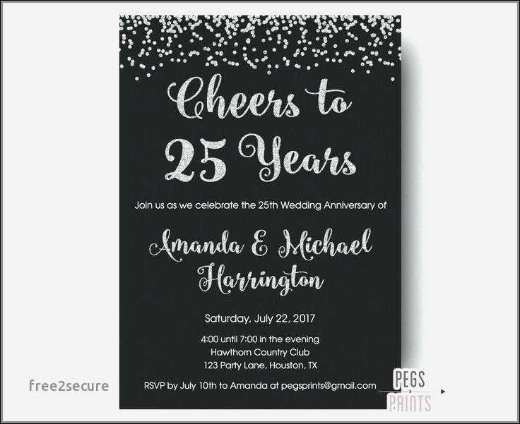 silver wedding anniversary invitation ideas wedding pics lovely of 25th wedding anniversary invitation of 25th wedding anniversary invitation