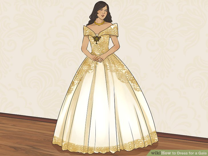 aid v4 728px Dress for a Gala Step 2 Version 4