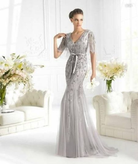 silver wedding gown luxury 25th wedding anniversary dresses wedding ideas