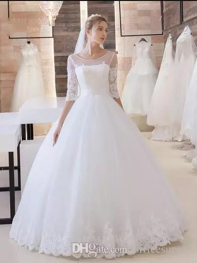 Asymmetrical Wedding Dresses New Discount Stunning Boho Lace Wedding Dress Half Sleeve Lace Up Corset Princess Layered Floor Length Bridal Gowns Wedding Dress Shopping Wedding Dresses