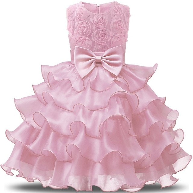 Flower Girl Dress For Wedding Baby Girl 3 8 Years Birthday Outfits Children s Girls First 640x640