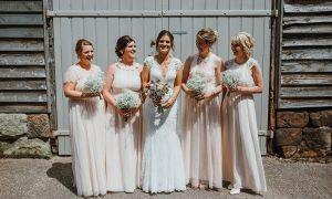 24 Elegant Barn Wedding Bridesmaid Dresses