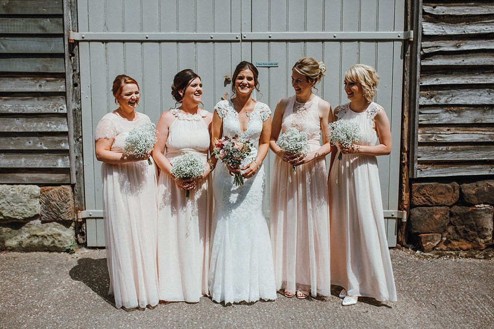 Barn Wedding Bridesmaid Dresses Lovely Pimhill Barn Wedding In Shrophire Super Personal & Magical