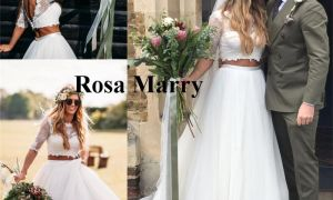 21 Elegant Beach Wedding Dresses Plus Size