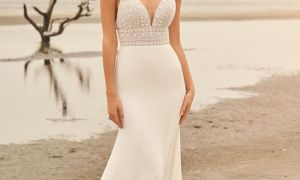 24 Fresh Beaded Bodice Wedding Dress