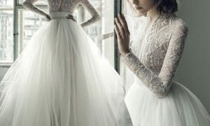 27 Lovely Beaded Wedding Dresses with Sleeves