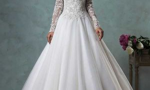 22 Luxury Beautiful Long Sleeve Wedding Dresses