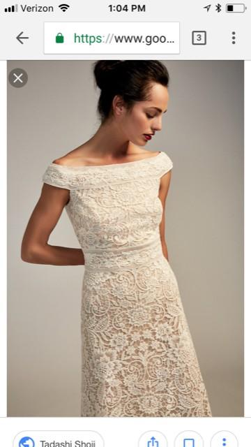 Beige Dresses for Wedding Fresh Tadashi Shoji Mimi Gown Wedding Dress Sale F