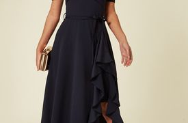 24 Fresh Below the Knee Dresses for Wedding Guests