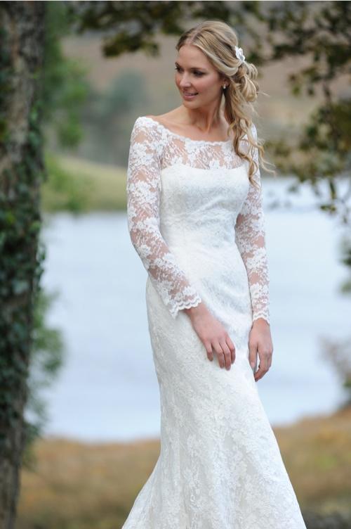 1 lace wedding dress fmn designs