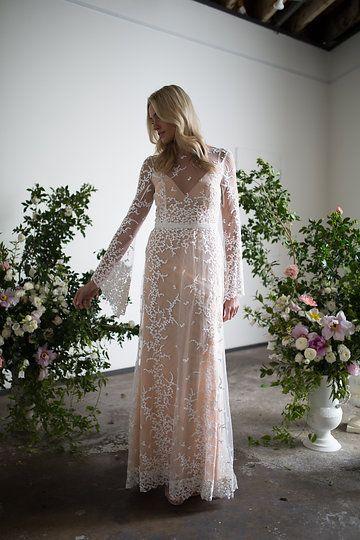 Bespoke Wedding Dresses Fresh Bespoke Pascele Wedding Gown by Karen Willis Holmes