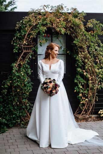Bespoke Wedding Dresses Fresh Satin Wedding Dress Pockets Second Hand Wedding Clothes