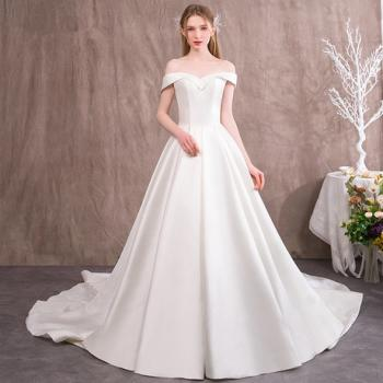 Best Places to Get Wedding Dresses Lovely White Satin Wedding Dress Buy Wedding Dresses Line at