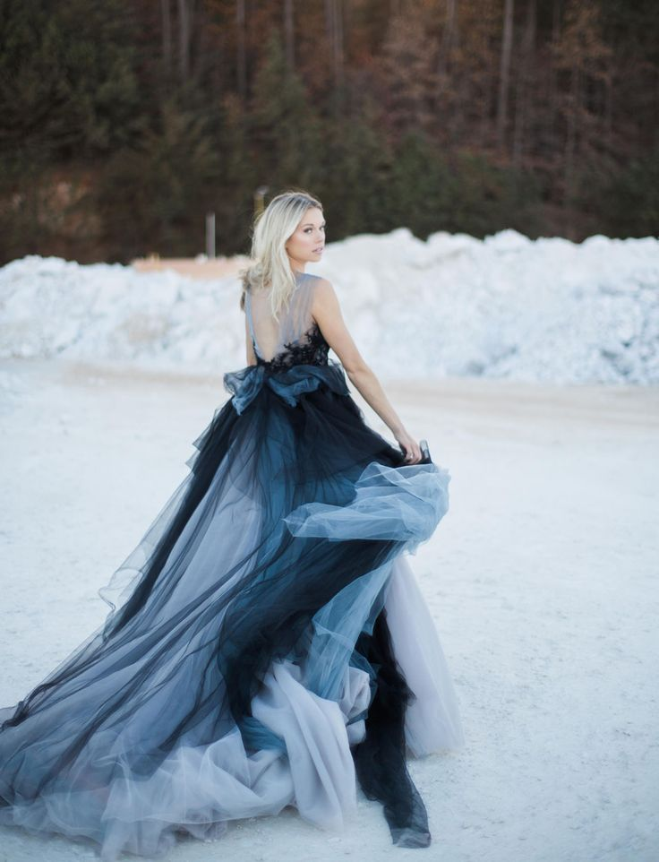 Black and Blue Wedding Dresses Inspirational the Trend that S Made to Last Marble Wedding Inspiration