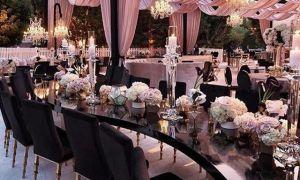 29 New Black and Blush Wedding