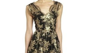 22 Unique Black and Gold Dresses for Wedding