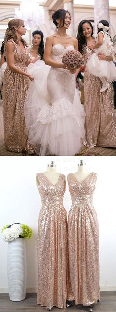 2c5a8ba0698e8db0abe192dc7fb8098e gold sequin bridesmaid dresses gold bridesmaids