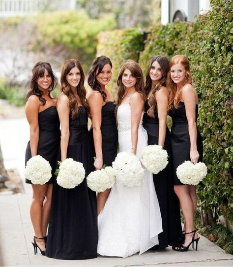 ca0d12c d226ffa627dde011f716 black bridesmaid dresses black bridesmaids