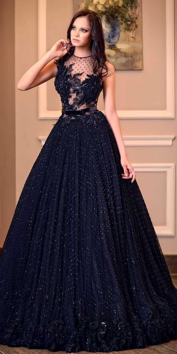 21 black wedding dresses with edgy elegance beautiful of black dresses at weddings of black dresses at weddings