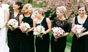 22 Inspirational Black Bridesmaid Dresses