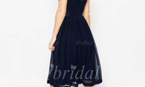 29 Beautiful Black Knee Length Bridesmaid Dress