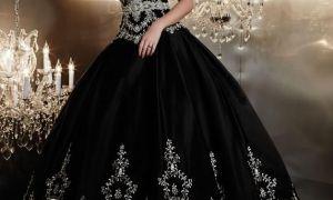 21 Inspirational Black Wedding Gown