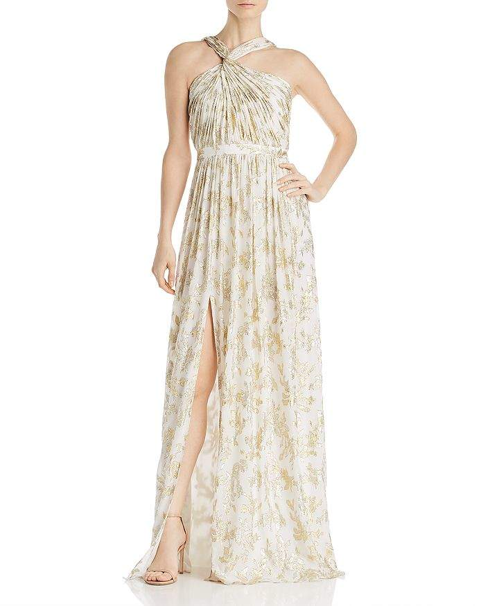 Rachel Zoe Bella Floral Embroidered Gown