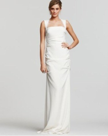 weddings blogs save the date 0322 nicole miller wedding dress we
