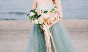 28 Lovely Blue Beach Wedding Dress