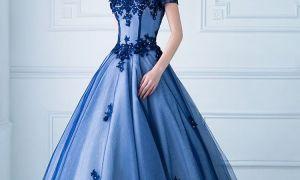 28 Elegant Blue Gown for Wedding