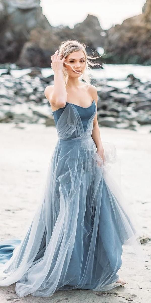 Blue Wedding Dresses Best Of 21 Adorable Blue Wedding Dresses for Romantic Celebration