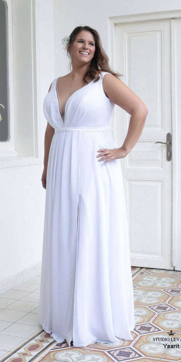 Blue Wedding Dresses Plus Size Elegant 24 Graceful Plus Size Wedding Dresses