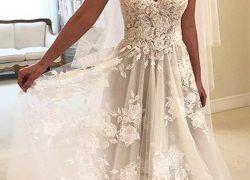25 Inspirational Blush Beach Wedding Dress