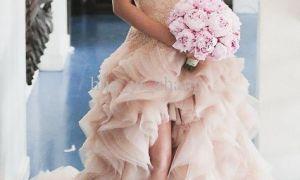 22 Inspirational Blush Bridal Dresses